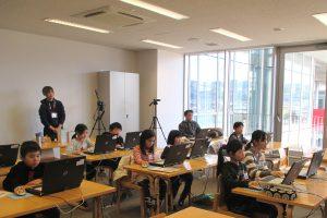ICTメディアリテラシー講座&パソコンで缶バッジづくり 開催されました